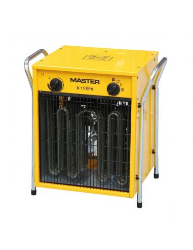 Master B15EPB 15kW-os ventilátoros gyorsfűtő