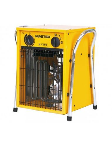 Master B5EPB 5kW-os ventilátoros gyorsfűtő