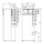 BEHA P6 elektromos konvektor 600 W