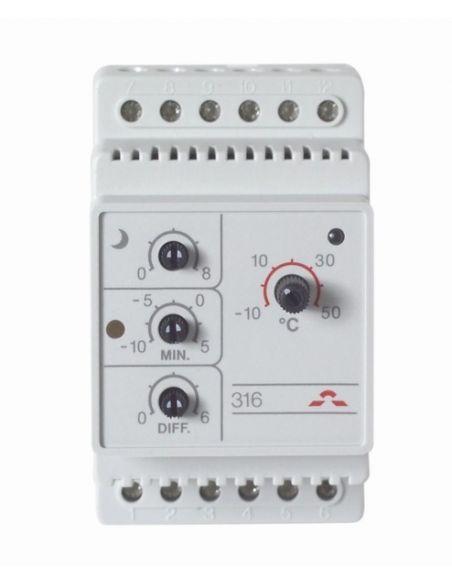 DEVIreg 316 univerzális termosztát kültéri fűtésekhez