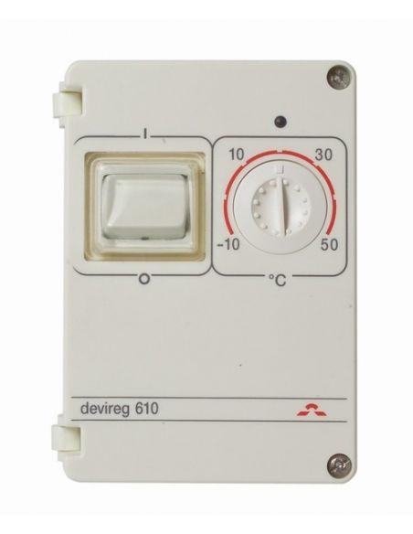 DEVIreg 330 univerzális termosztát kültéri fűtésekhez