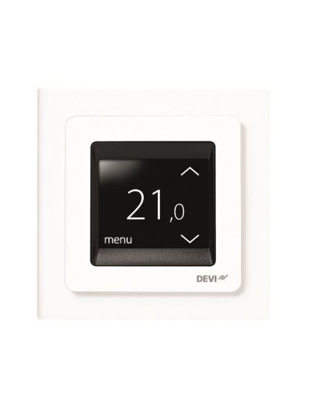 DEVIreg Touch intelligens termosztát padlófűtésekhez időzítővel