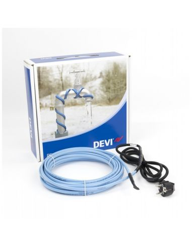 DEVI DPH-10 V2 140W 14m azonnal használható önszabályozó fűtőkábel csőfűtésre