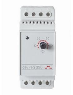 DEVIreg 330 univerzális termosztát padló- és csőfűtéshez